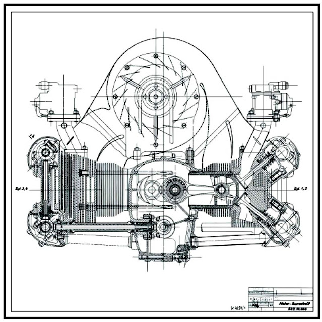Specifications of 50 famous racing engines up to 1994